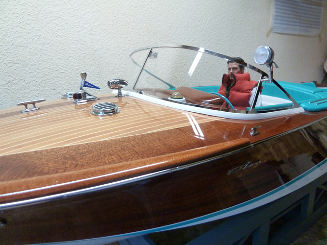 Riva Holzboot Modell